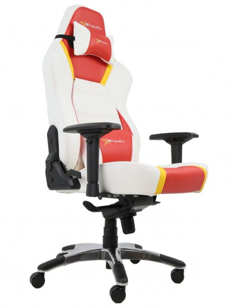 EWin Hero Series Ergonomic Computer Gaming Office Chair with Pillows-HRF