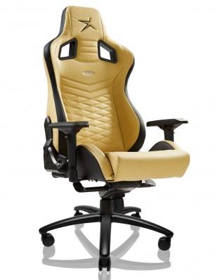 EWin Flash XL Size Series Ergonomic Golden Computer Gaming Office Chair with Pillows - FLI