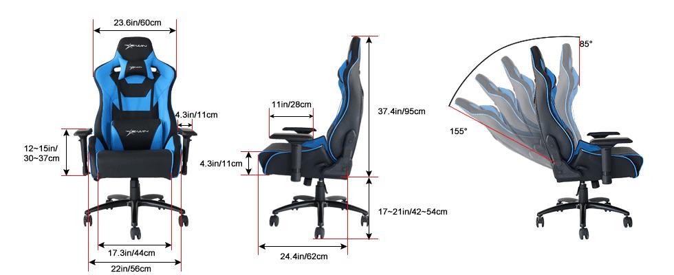 EwinRacing Flash XL gaming chair