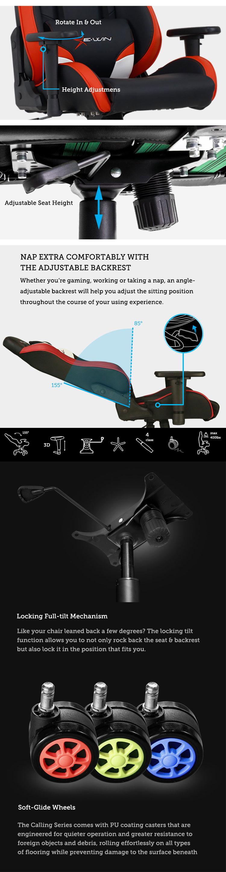 EwinRacing Champion series gaming chair