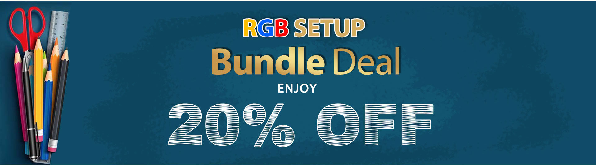 E-WIN RGB Setup Bundle Sale