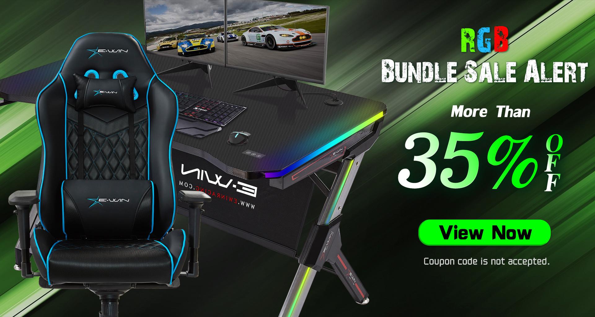 Ewin Gaming Chair&Desk Christmas Sale