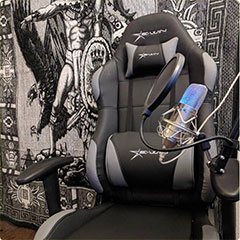 EwinRacing Champion Series All Black Gaming Chair