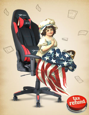 EwinRacing Calling Series White Gaming Chair