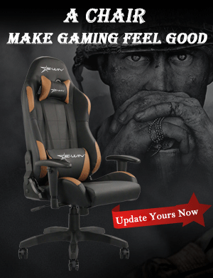 EwinRacing Calling Series Brown Gaming Chair