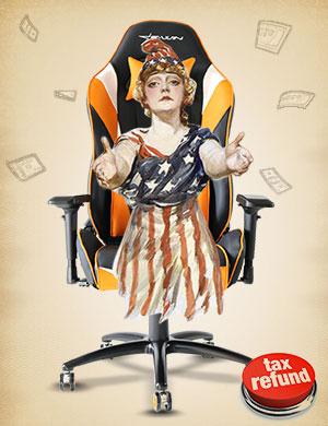 EwinRacing Champion Gaming Chair CPB