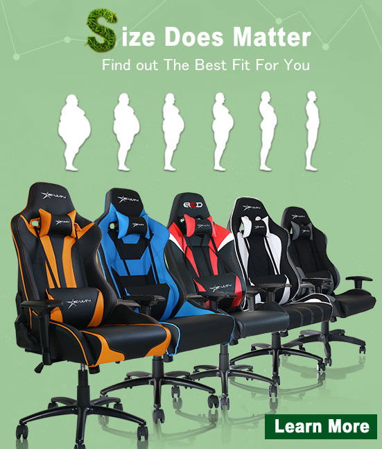 Ewin Gaming Chair Dimensions