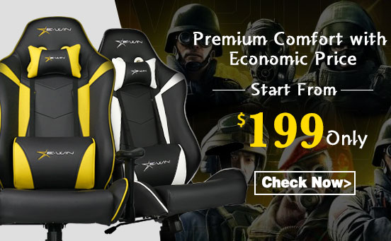 EwinRacing Knight Series Gaming Chair with Free Pillow