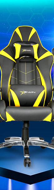 EwinRacing Hero Series Yellow Gaming Chair